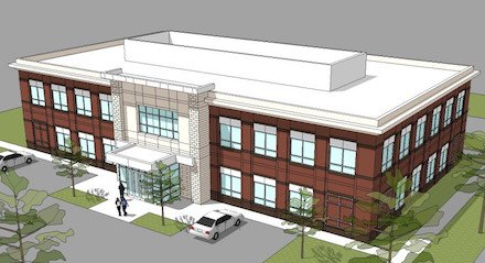 Rendering of Waverly Location
