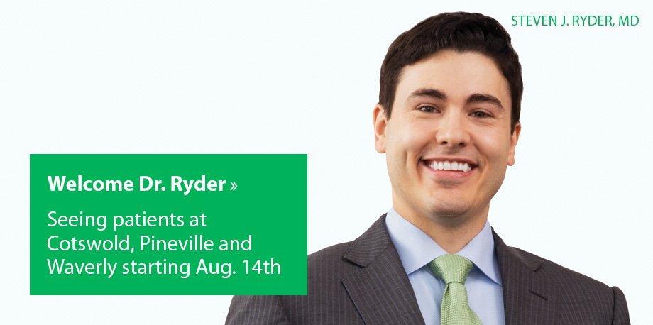 Welcome Steven J. Ryder, MD