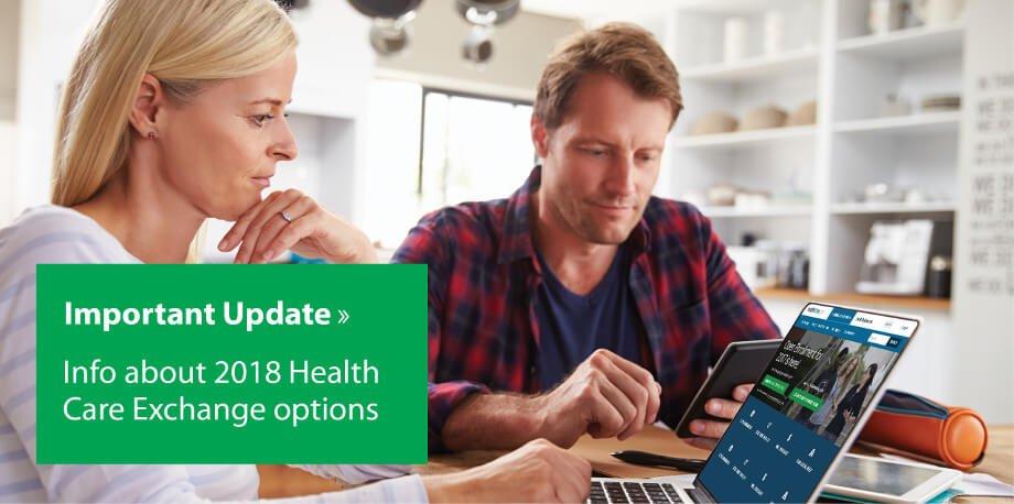 2018 Health Care Exchange slider