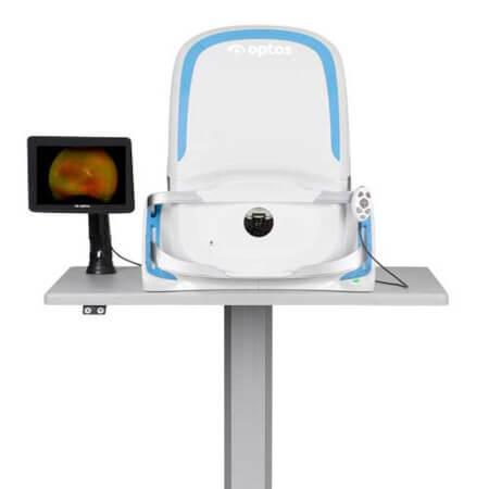 Optomap non-dilated eye exam